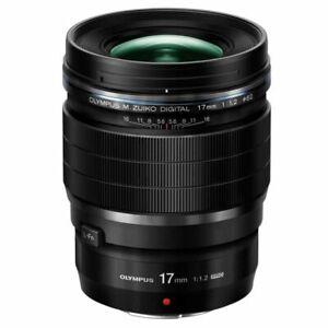 Olympus M.zuiko Digital ED 17mm F1.2 Pro Lens, Fixed, 62mm Attach