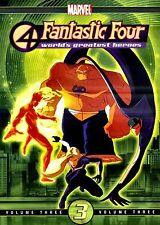 NEW DVD // FANTASTIC FOUR - WORLD'S GREATEST HEROES VOLUME 3 // 89 min