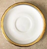 Elizabeth (scalloped) 7947 by Aynsley England 6 1/4 Inch Saucer Fine Bone China