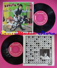 LP 45 7'' SERGE KOOLEN Filles a problemes Le train a l'envers 1980 no cd mc dvd