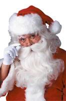 Christmas Santa Saint Nick Wig and Beard Set