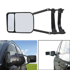 Adjustable Dual Glass SUV Truck Trailer Mirror Clip-on Towing Mirror Extension