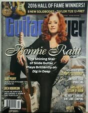 Guitar Player Nov 2016 Bonnie Raitt Hall of Fame Winners Gear FREE SHIPPING sb