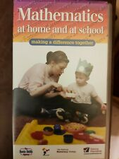 VHS video tape Mathematics at Home and at School