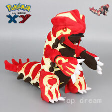 New Pokemon Center Primal Mega Groudon Plush Doll Soft Toy 12'' 30CM Teddy