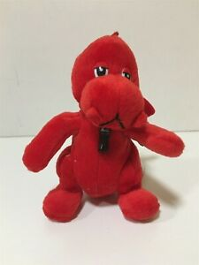 """Coca Cola International Collection Red Dragon Wales 7"""" Soft Toys"""