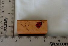 Ladybug with a trail by Stampcraft (440D40)