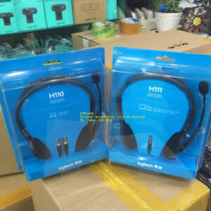 Brand new original Logitech H110 H111 H151 H340 H390 H600 music/voice/headphones