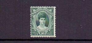 NEWFOUNDLAND 1911 CORONATION 10c SG125 LMM CAT £42