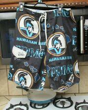 Primo Hawaiian beer Billabong surf board shorts Men's 34