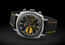 Undone 80th Anniversary Batman Caped Crusader Men's Titanium Chronograph Watch