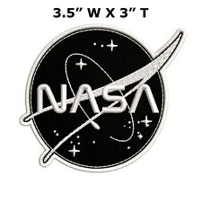 Nasa Space Explorer Embroidered Patch Iron / Sew-On Decorative Gear Applique