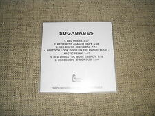 SUGABABES - RED DRESS / OBSESSION - 6 TRACK ACETATE DJ CLUB PROMO REMIXES  RARE