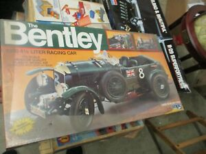 MPC 1/12 Scale Model The Bentley 1930 4 1/2 Liter Racing Car - Vintage 1982 NEW