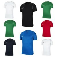 Nike Boys T Shirt Park 20 Kids Short Sleeve TShirt Football Training Top T-Shirt