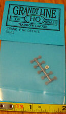 Grandt Line HO #5082 Crank Pin Detail (pcs 10) Narrow Gauge (Plastic Parts)