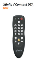 COMCAST XFINITY CABLE DTA (DIGITAL TRANSPORT ADAPTER) UNIVERSAL REMOTE CONTROL