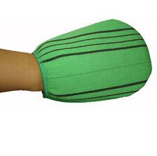 (4pcs) Wash Shower Spa Bath Massage Scrubbing Exfoliating Glove Mitten Towel
