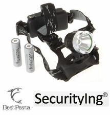 SECURITYING - LAMPADA FRONTALE 511 - LED CREE tipo XM-L T6 - 1600 lumen