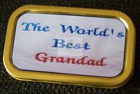 Worlds Best Grandad 1 and 2oz Tobacco/Storage Tins