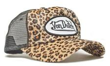 Authentic Brand New Von Dutch Cheetah Print Cap Hat Mesh Truckers Snapback Rare