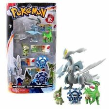 TOMY Pokemon 4  Gift Pack-White Kyurem Birizion Cyogonal Axew Pokedex ID TAGS