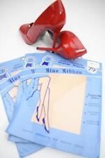 New listing Sassy 3 Pr Shopper'S Fair Beigetone 51/15 Seamed Ff Vintage Nylon Stockings Sz 9