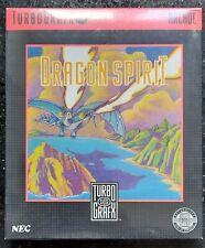Dragon Spirit - TurboGrafx - New & Sealed!