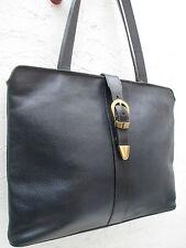 -AUTHENTIQUE sac à main type serviette ETIENNE AIGNER cuir   TBEG bag A4