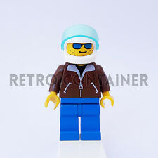 LEGO Minifigures - 1x jbr001 - Man with Brown Jacket - Omino Minifig 6597 10159