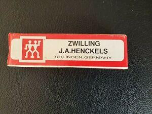 ZWILLING J.A. TWIN HENCKELS Pocket Knife HK-1-B CONGRESS Red Bone MINT+BOX