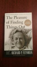 RICHARD P. FEYNMAN The Pleasure of Finding Things Out PAPERBACK Like new!