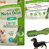 Dog Dental Chew Treats Oral Care Reduce Plaque and Tartar Fresh Breath Snack