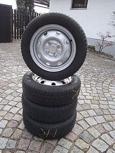 Sommerräder Semperit 165/65R13,4 Loch Stahlfelgen ET45, 4.1/2Jx13