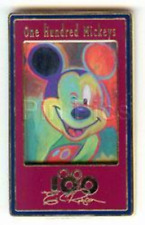 Disney Pin 14813 One Hundred Mickeys Mickey 089 Winking Mouse  Eric Robison LE #