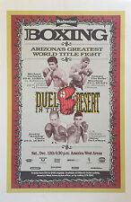 MICHAEL CARBAJAL vs ROBINSON CUESTA 8X10 PHOTO BOXING POSTER PICTURE T MORRISON