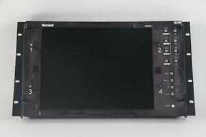 "Marshall V-R151P-4 15"" Rak Mountable LCD Monitor- Fair Condition"