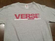 Rare Women's VERSE REBUILD RIHC Hardcore Punk Band Graphic T-Shirt (Small) NWOT