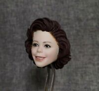 1/6 Beauty European Child Girl Star Shirley Temple Pale Skin Head Carving