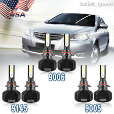 9005 9006 9145 LED Headlight Kit Fog Bulb for Ford Expedition Explorer 2003-2005