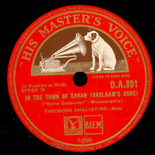 THEODORE CHALIAPINE (SCHALJAPIN) In the town of Kasan -RUSSIAN-    78rpm S8880