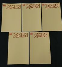 Marvel X-Men #7 * Blank Variant Sketch Cover * Lot of Five (5) Comics NM