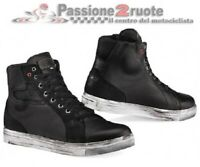 Scarpe moto city urban Tcx Street Ace WP nero black shoes waterproof