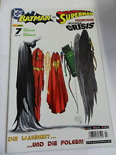 1x Comic DC - Identity Crisis - Batman & Superman (Nr. 7)