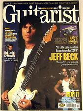 GUITARIST MAGAZINE October 2003 Jeff Beck EVH Hendrix Strat Gibson Les Paul
