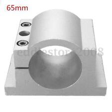 65mm Diameter Spindle Motor Mount Bracket Clamp CNC Engraving Machine Mill Grind