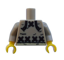 Lego Torso Upper Body IN DARK BEIGE Eskimo Ice Fisherman Series 5 NEW