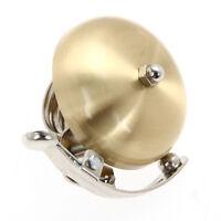 Retro Metal Bike Ring Bicycle Cycling Handlebar Bell Sound Alarm Golden Horn New