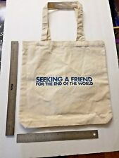 Seeking Friend End World (2012) Movie Pomotional Tote Book Shopping Bag SWAG New