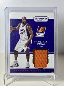 2016-17 Panini Grand Reserve NBA SHAQUILLE ONEAL Game Worn Reserve Materials PHX